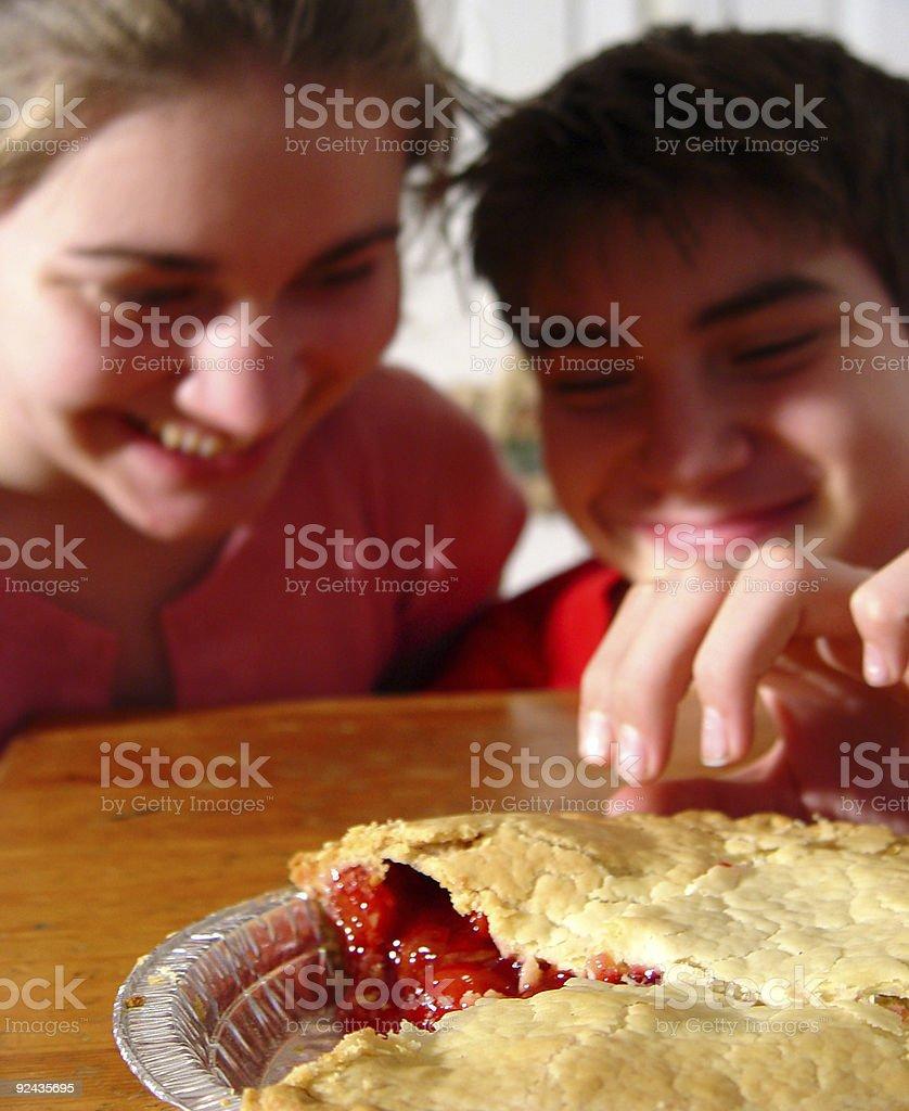 children - temptations stock photo