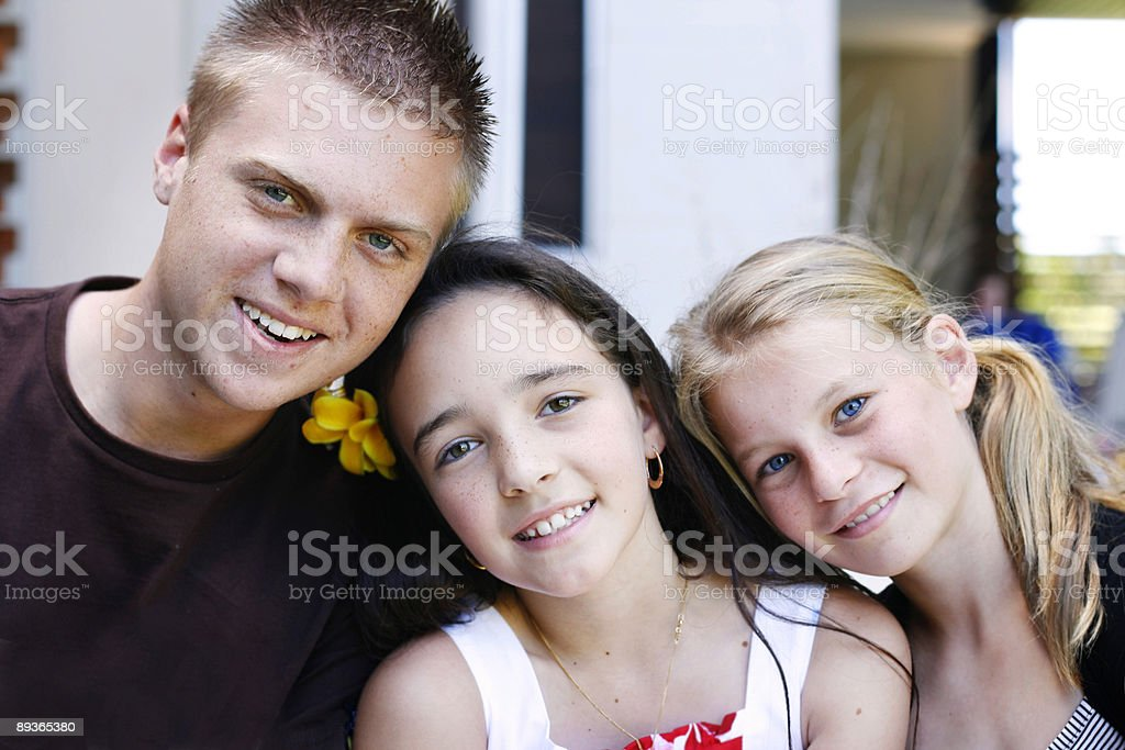 Children together royalty-free stock photo
