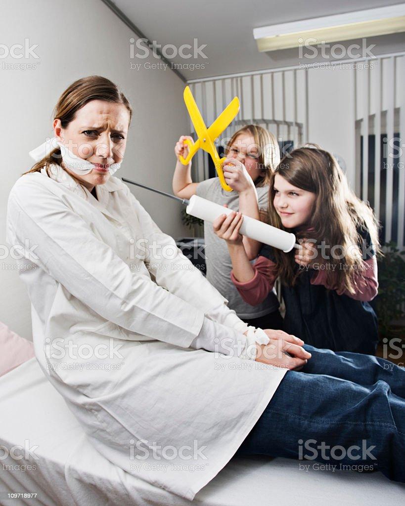 Kinder offene Arzt – Foto
