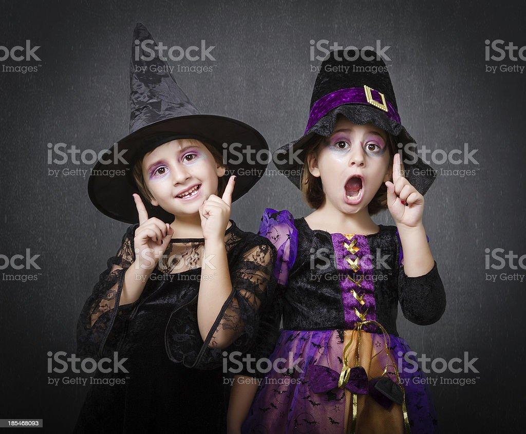 Bambini strega idea - foto stock