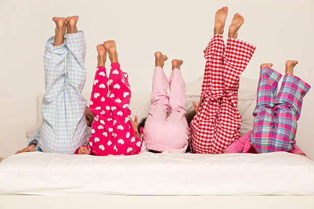 Children's Bedtime stock photo