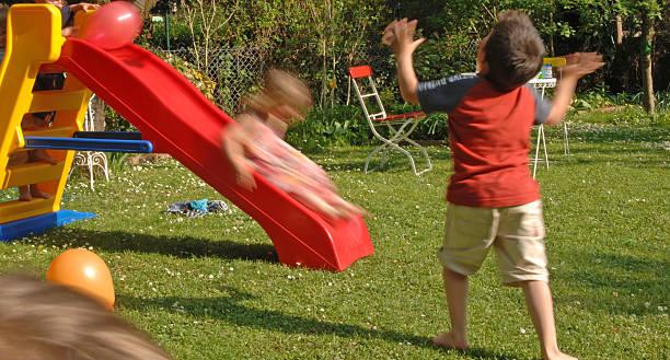 children's birthday party#3 - sommerfest kindergarten stock-fotos und bilder
