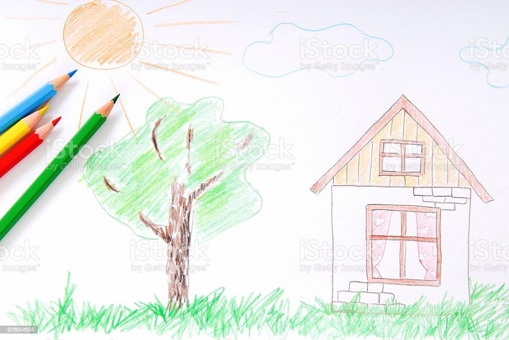 Fotografía de Boceto De Color Para Niños y más banco de imágenes de ...