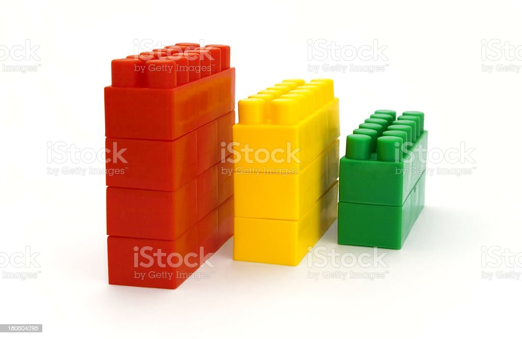 children's cubes royalty-free stock photo