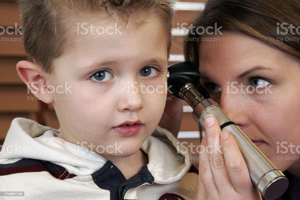 Children's Doctor royalty-free stock photo