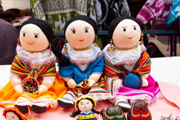 Childrens Dolls stock photo