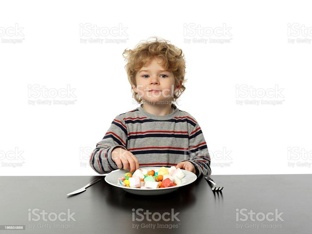 Children's dreams royalty-free stock photo