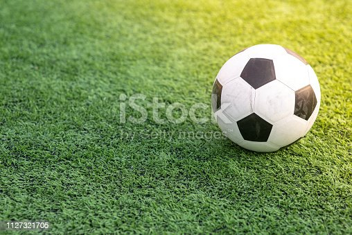 Children's football training ground