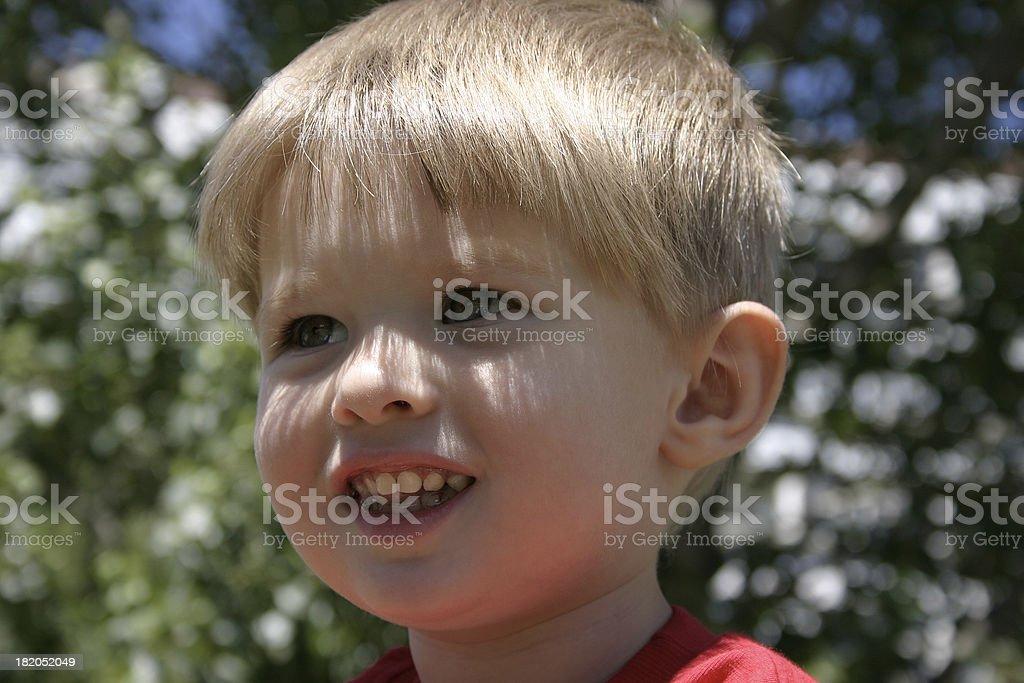 Children's happiness royalty-free stock photo