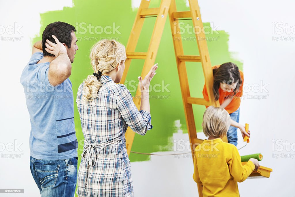 Children's independency. royalty-free stock photo