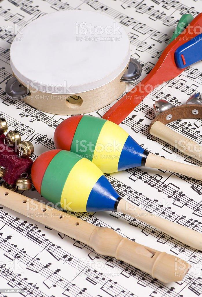 Children's Instruments stock photo