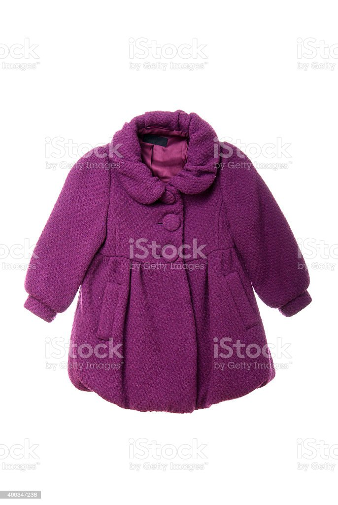 Children's jacket stock photo