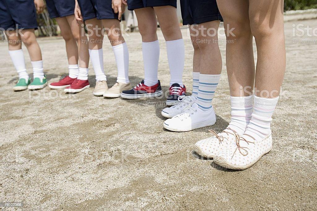 Children's legs 免版稅 stock photo
