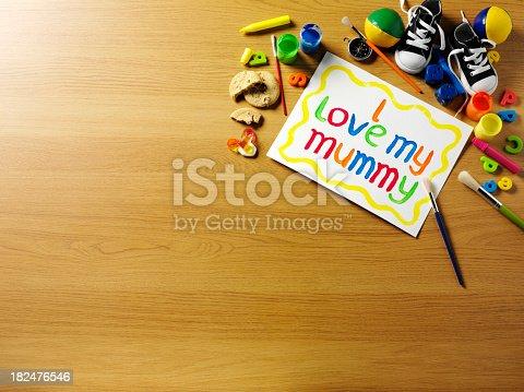 istock Children's Love for Mum 182476546