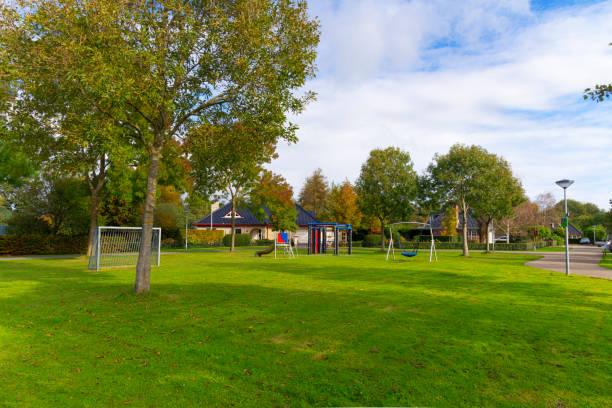 Children's' Playground stock photo