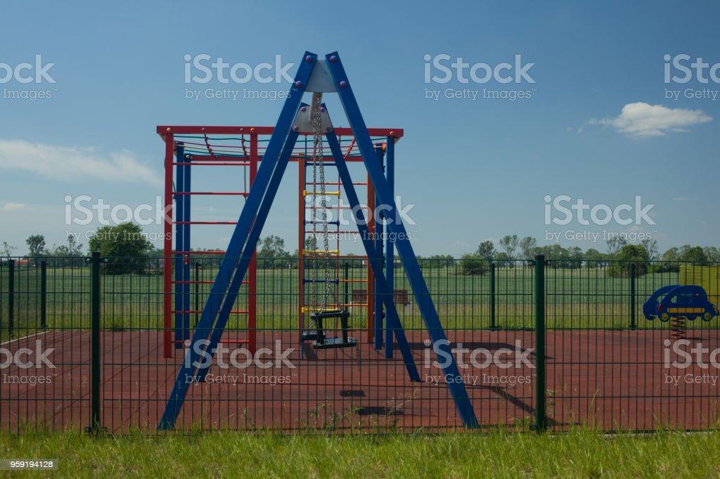 Children's Playground. stock photo