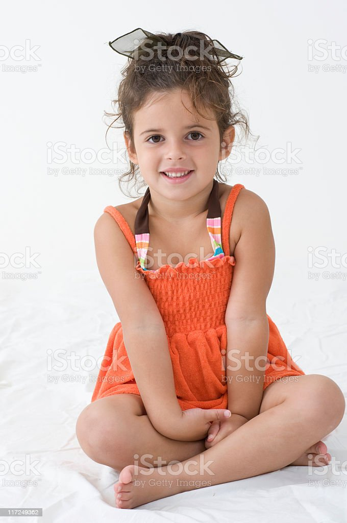 Childrens Portrait Series stock photo