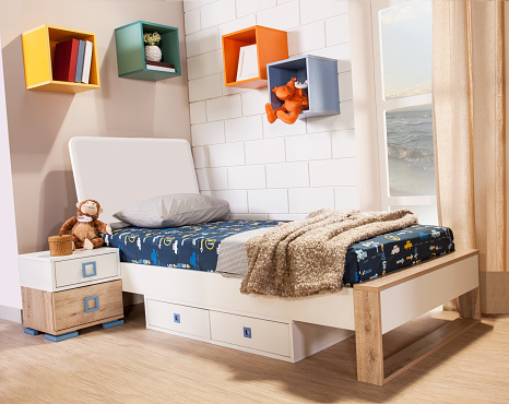 istock Children's room interior 814263662