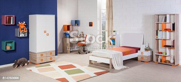 istock Children's room interior 814263666