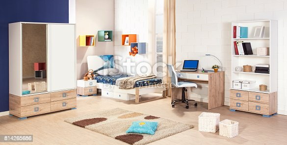 istock Children's room interior 814265686