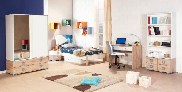 子供の部屋のインテリア - 子供時代 ストックフォトと画像