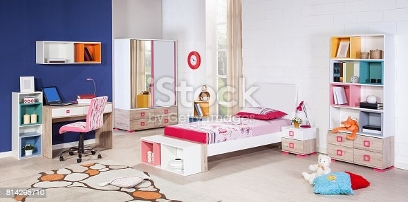istock Children's room interior 814265710