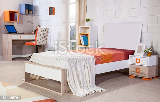 istock Children's room interior 814265794