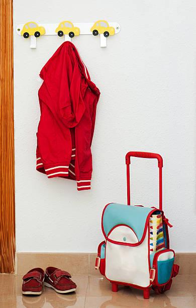 Kinder-set von Rot – Foto