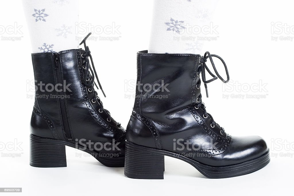 Children's shoes royalty-free stock photo