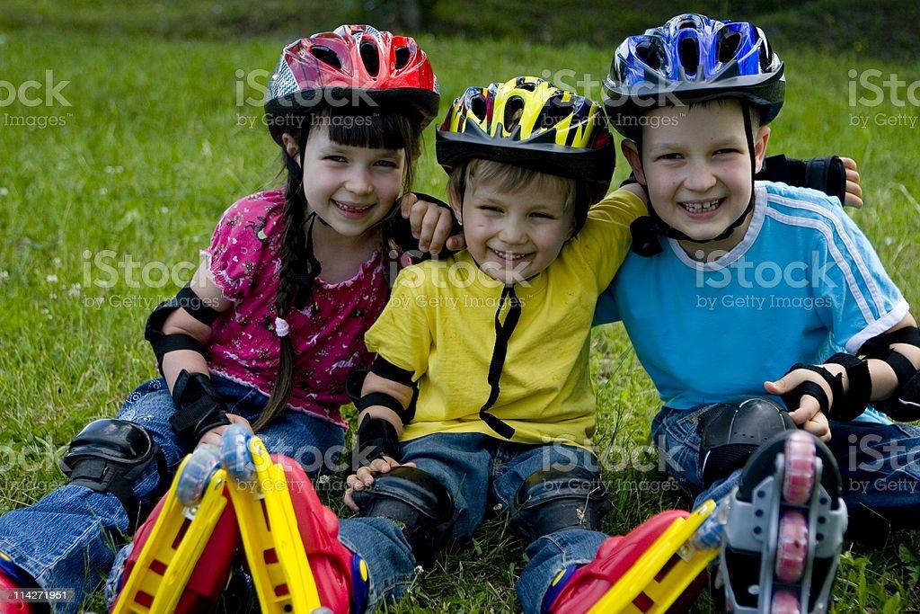 childrens sport royalty-free stock photo