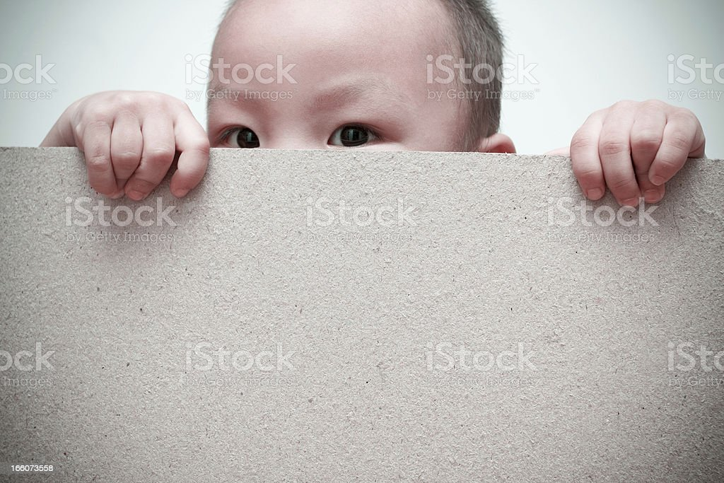 Children's spy (XXL) royalty-free stock photo