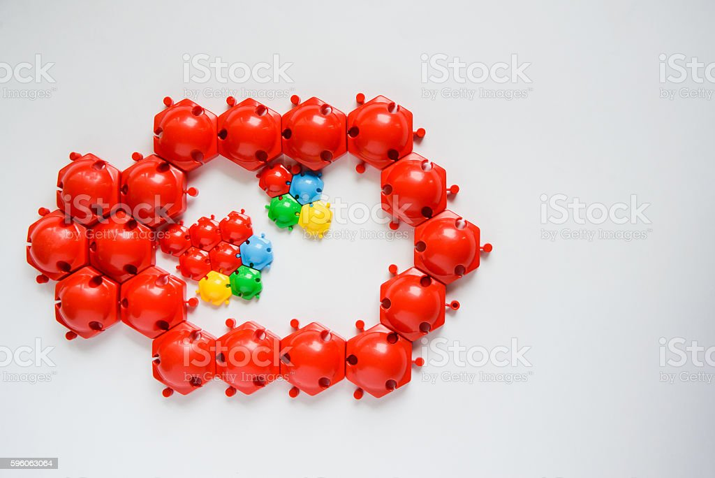 childrens toy puzzle royalty-free stock photo