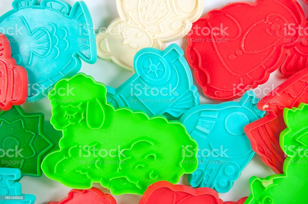 Child's Cookie Cutters stock photo