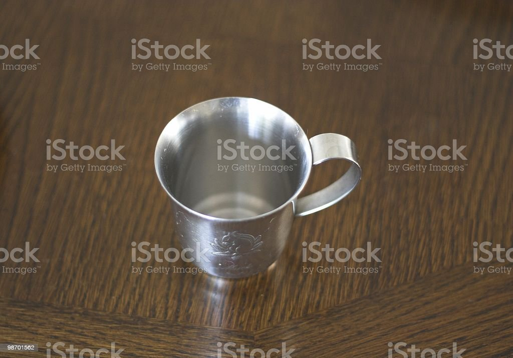 Childs Cup royalty-free stock photo