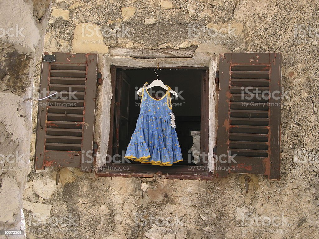 Childs dress for sale royalty-free stock photo