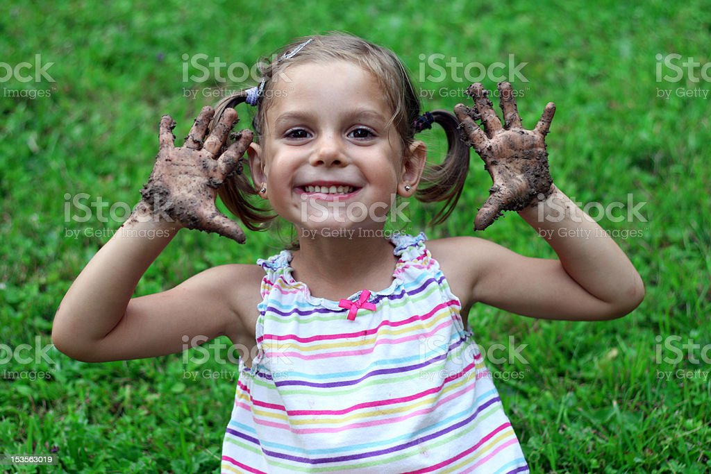 Child's game royalty-free stock photo