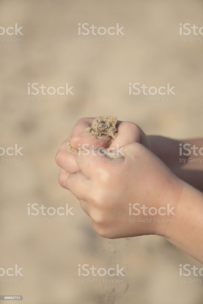 Child's Hands royalty-free stock photo