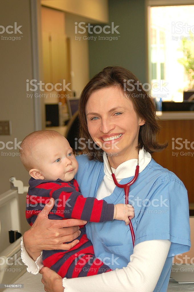 Child's Health royalty-free stock photo
