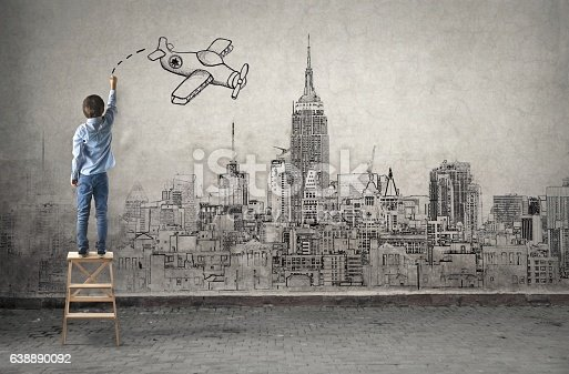 istock Child's imagination 638890092