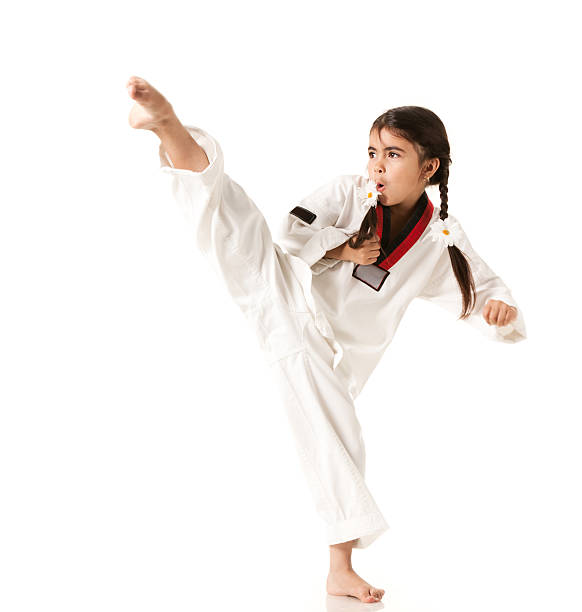 Child's Karate stock photo