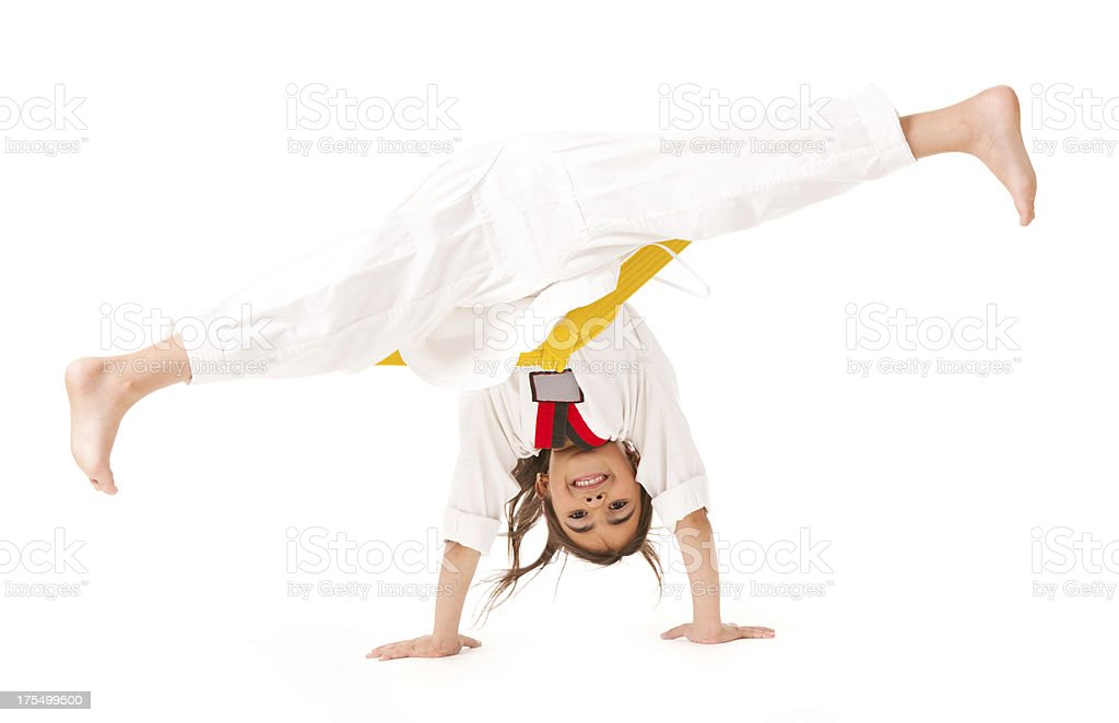Child's Karate royalty-free stock photo