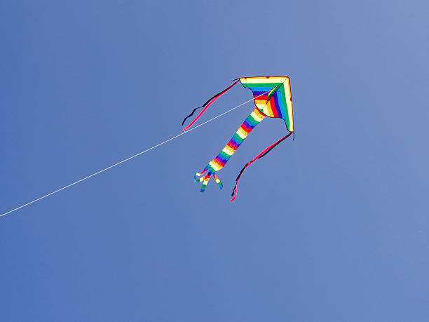 Childs Kite stock photo