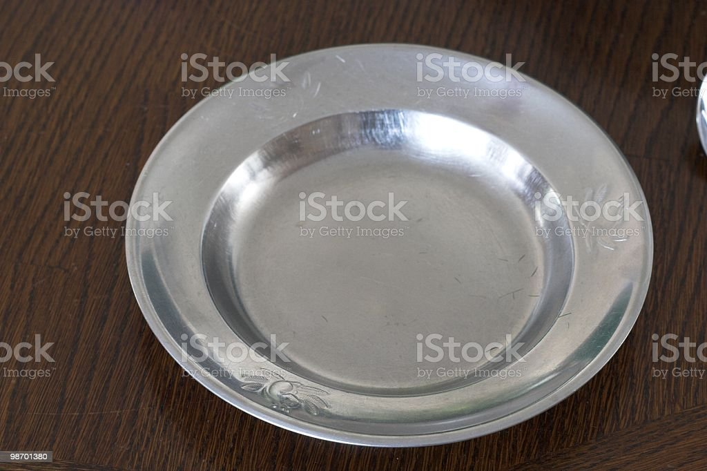 Childs Plate royalty-free stock photo