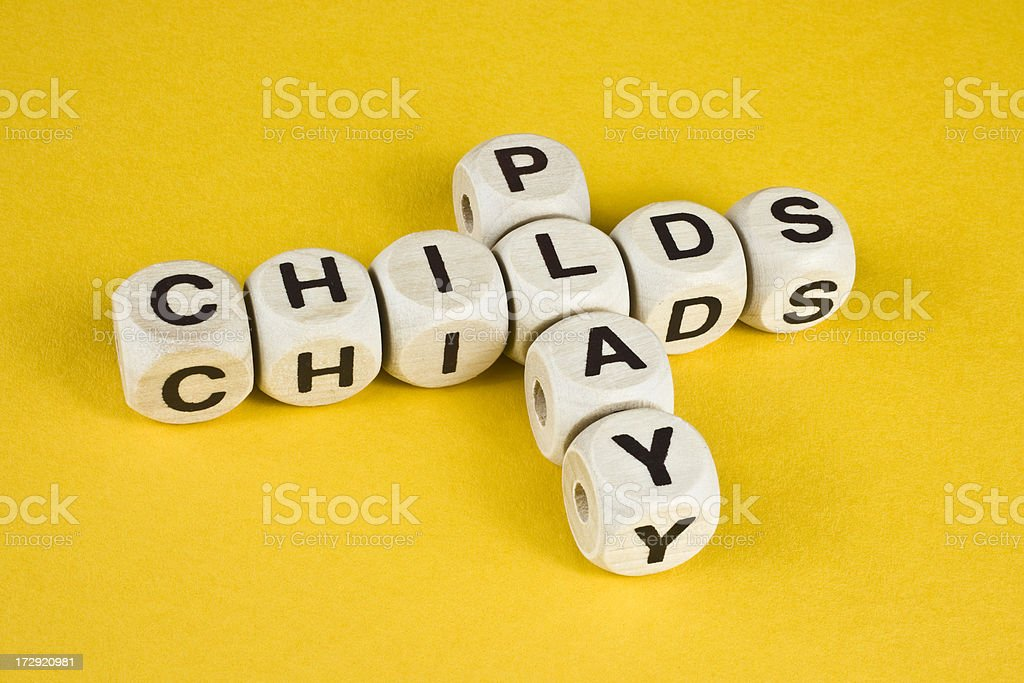 Child's Play royalty-free stock photo