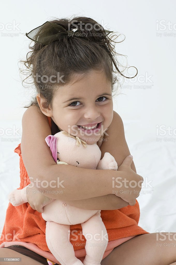Childs Portrait Series royalty-free stock photo