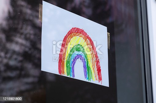 During the Coronavirus crisis children have been putting pictures of rainbows in their windows as optimistic symbols of better times to come.