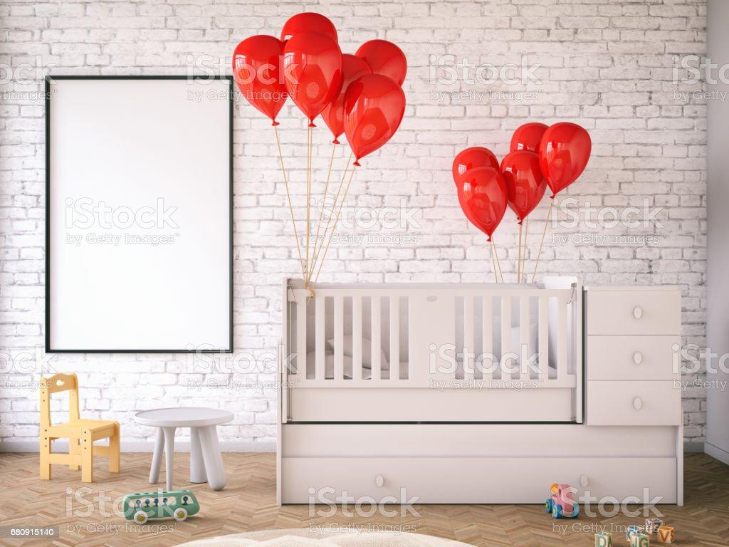 Child's room stock photo