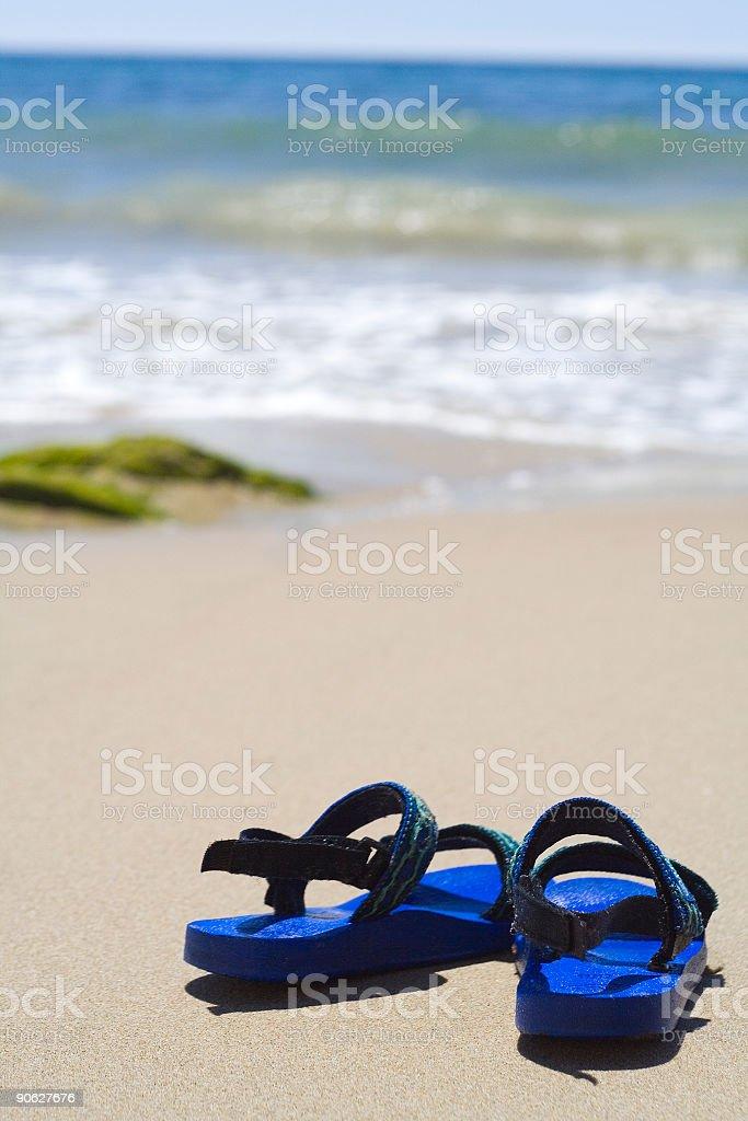 Criança o sandals - foto de acervo