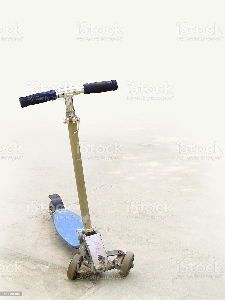 child's scooter royalty-free stock photo