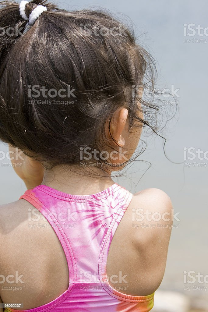 Child's Shoulder royalty-free stock photo